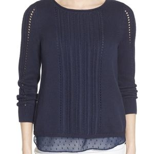Lucky Brand Dot Sweater